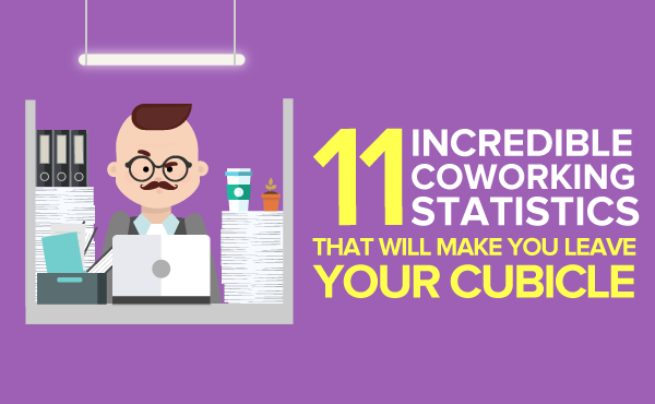 """11 Incredible Coworking Statistics That Will Make You Leave Your Cubicle"""